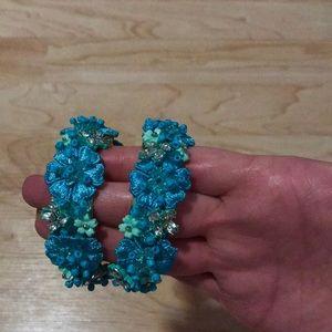 Brand new BaubleBar hoop earrings!